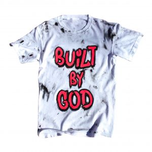 Built by God Handpainted Tee
