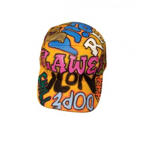 Flawedish Graffiti 5 Panel Hat